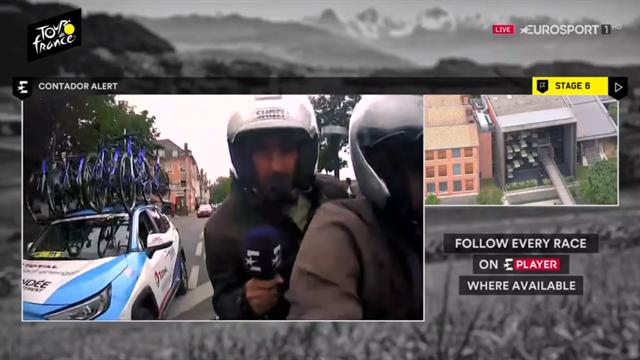 Contador en el Tour: Lo que nunca ha contado Alberto de su amargo día en La Planche en 2014