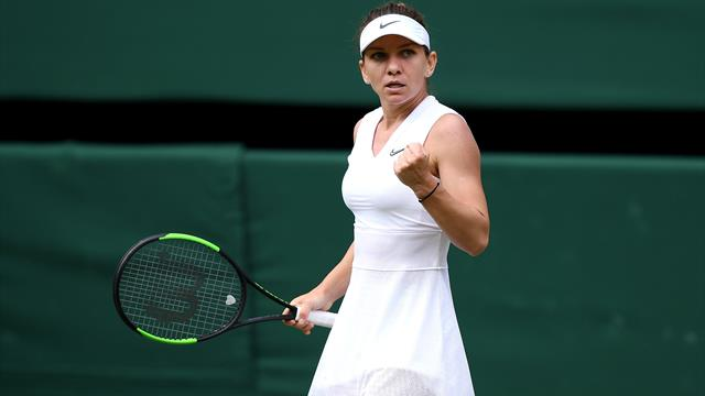 Halep reaches Wimbledon final with win over Svitolina