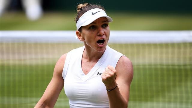 Halep siegt furios gegen Switolina und steht im Wimbledon-Finale