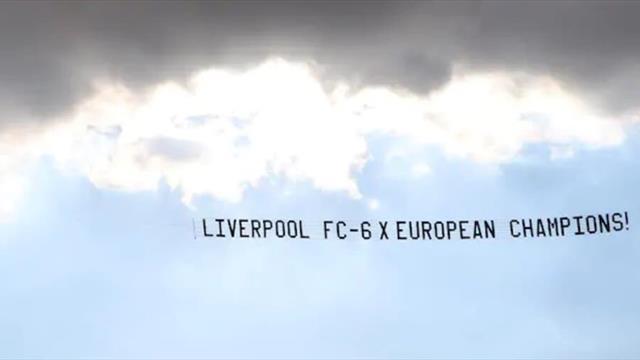 «6-кратные чемпионы Европы». Фаны «Ливерпуля» скинулись на самолет с баннером, чтобы унизить «МЮ»