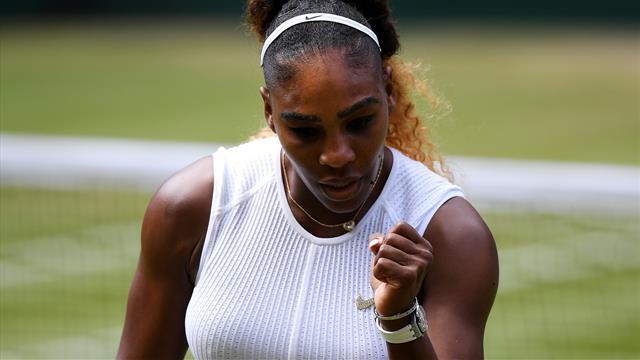 🎾😊Serena Williams, más cerca de hacer historia: pasa a la final de Wimbledon