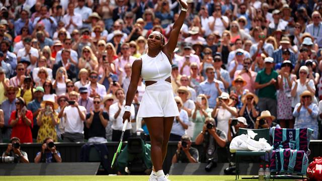 Williams veel te sterk voor Strycova in halve finale Wimbledon