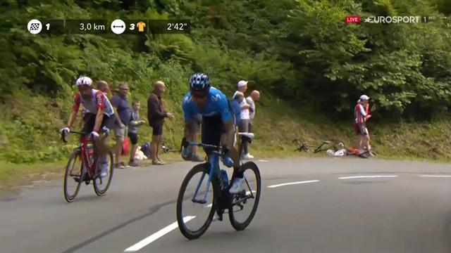 Tour de Francia 2019: El ataque de Landa que puso en jaque al Ineos