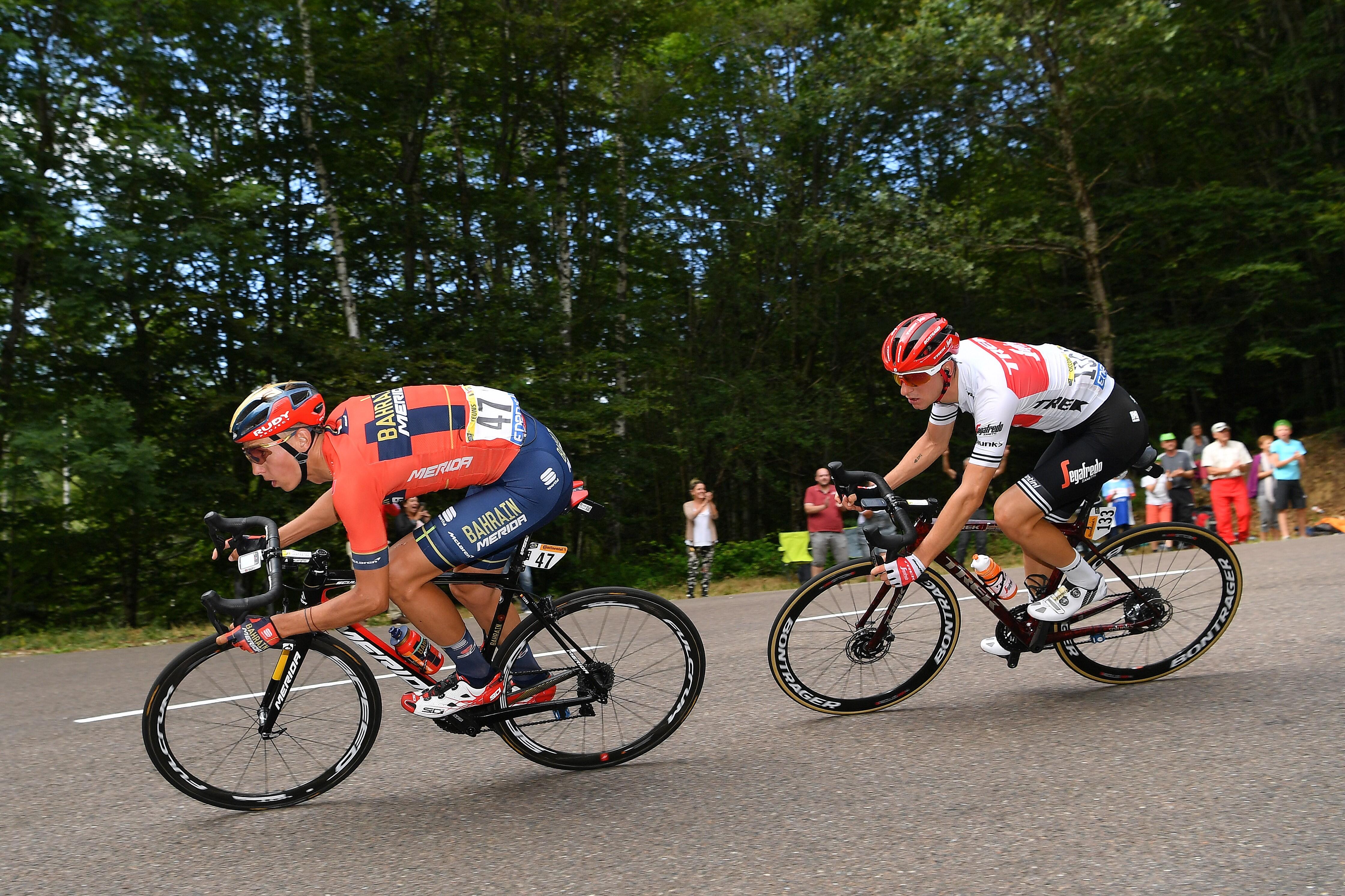 Dylan Teuns ve Giulio Ciccone, Tour de France 2019