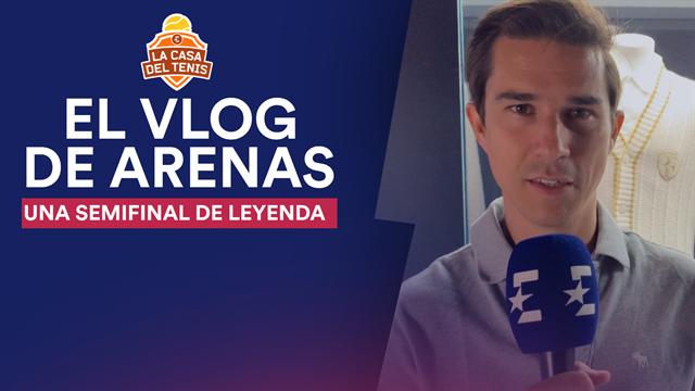 VLOG Arenas: una semifinal de leyenda entre Nadal y Federer con el recuerdo de 2008