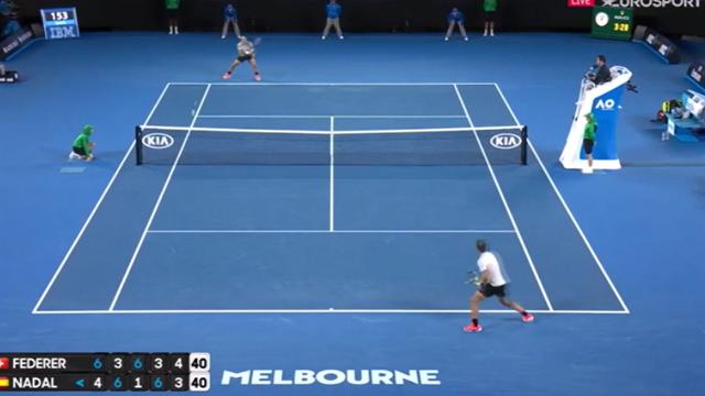 Federer-Nadal, il colpo più bello dell'epica finale degli Australian Open 2017