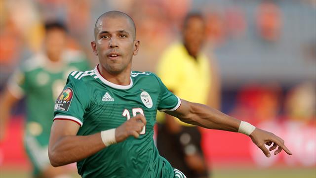 Copa África 2019: El golazo de Feghouli ante Costa de Marfil para adelantar a Argelia