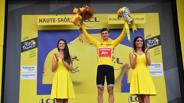 Giulio Ciccone stupendo a La Planche des Belles Filles: arriva 2° e conquista la maglia gialla