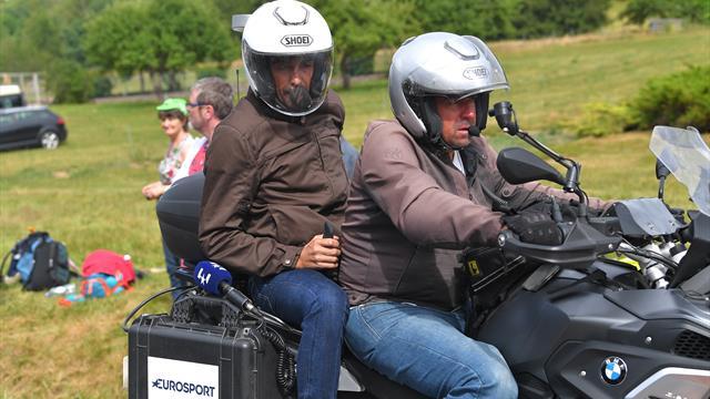 """Contador: """"Bravo Ciccone. Sorprese? Che il Team Ineos non abbia preso le redini della corsa"""""""