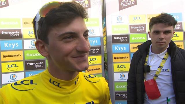 """Ciccone: """"Ero venuto al Tour per fare esperienza, ora ho la maglia gialla. Incredibile!"""""""