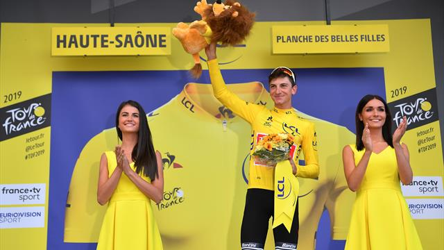 Ciccone takes yellow from Alaphilippe after Teuns wins at La Planche des Belles Filles
