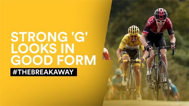 #TheBreakaway - A great day for Geraint Thomas as defending champion flies under the radar