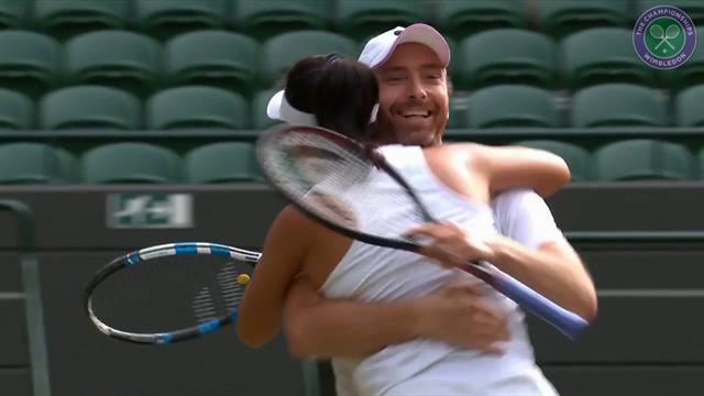 Middelkoop & Yang verrassend naar halve finale Wimbledon