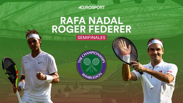 Wimbledon 2019, Nadal-Federer: Capítulo 40 en el escenario del mejor partido de la historia
