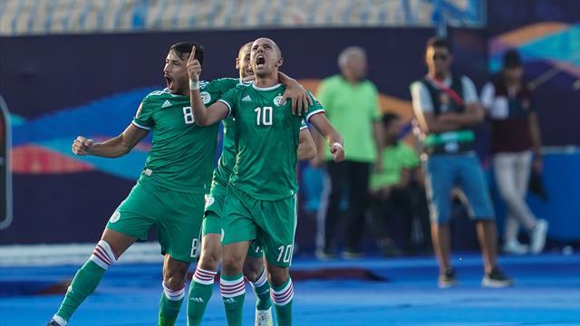 El desenlace de infarto de la tanda de penaltis entre Costa de Marfil y Argelia