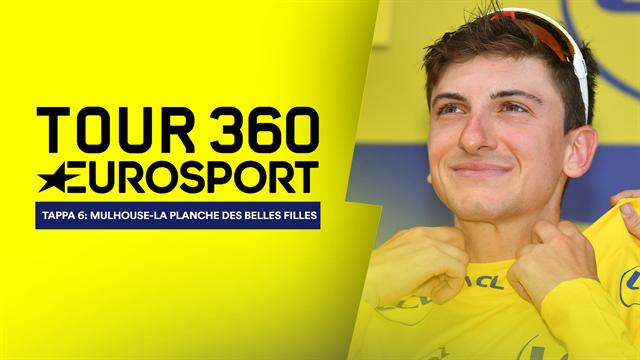 """""""Tour 360"""", tappa 6: L'arte dello scalatore ti premia Giulio Ciccone, sei la maglia gialla!"""