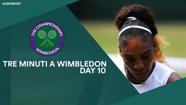 Dalla missione storica di Serena alla vigilia di Federer-Nadal: tre minuti a Wimbledon, Day 10