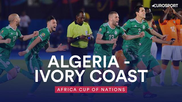 Algeria beat Ivory Coast on penalties