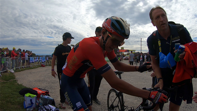 Elated exhaustion - watch the moment Dylan Teuns conquered Stage 6