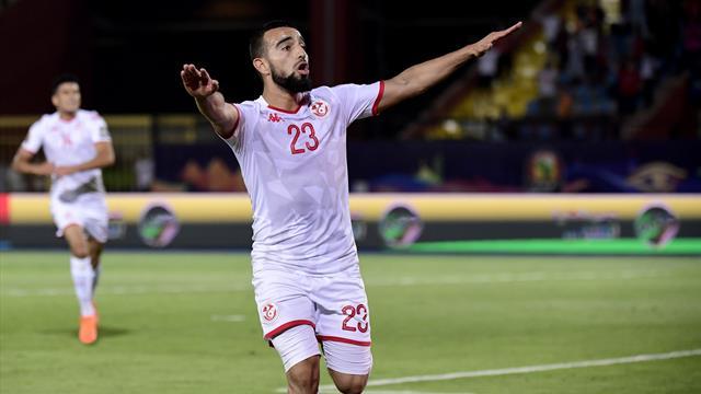 Naim Sliti marcó el gol que puso la puntilla a Madagascar