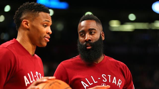 Harden et Westbrook veulent jouer avec Team USA aux Jeux