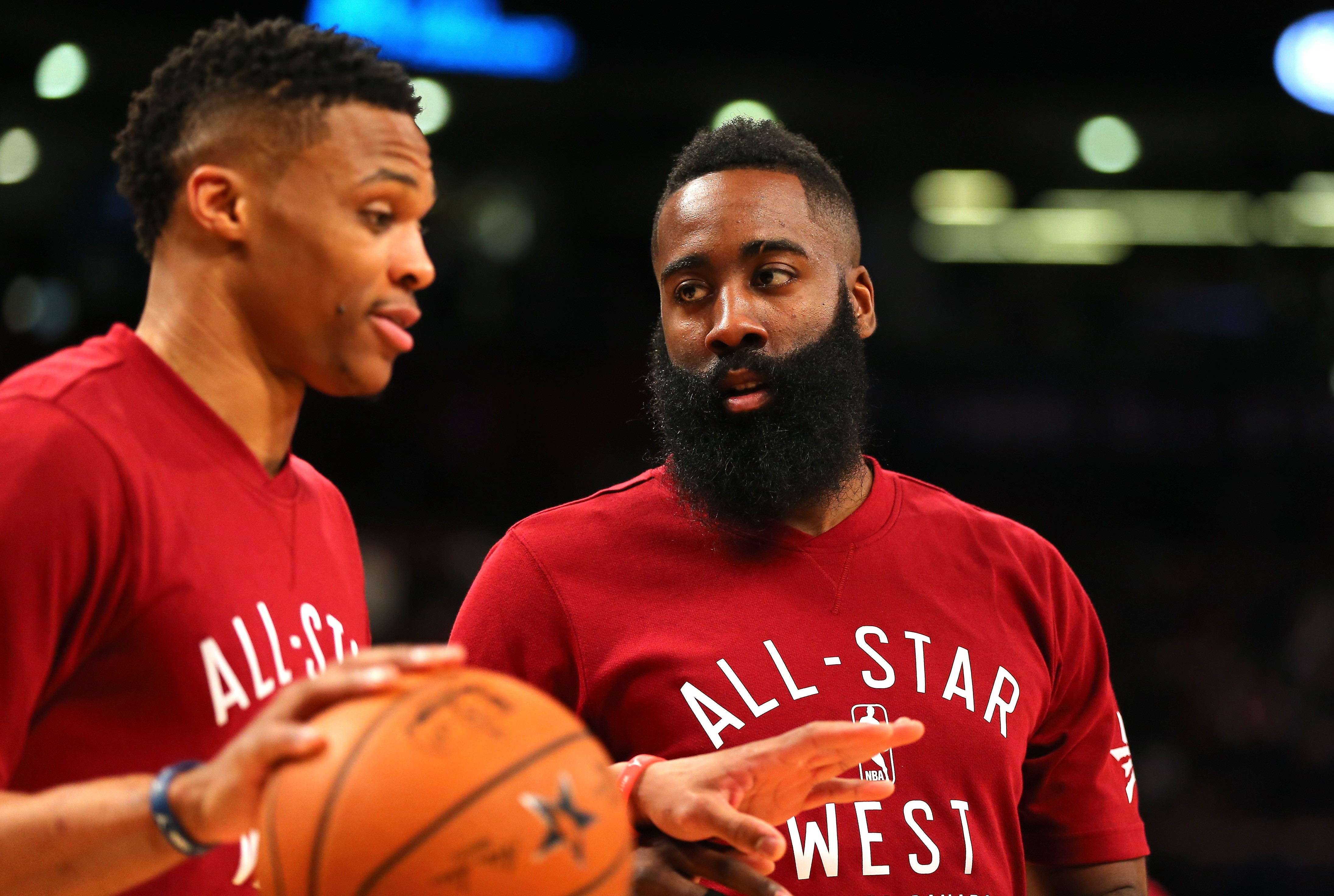 Russell Westbrook ve James Harden