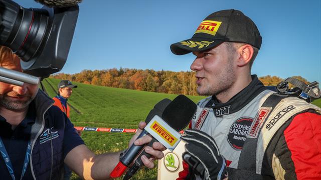 Gryazin returns to take up ERC prize drives