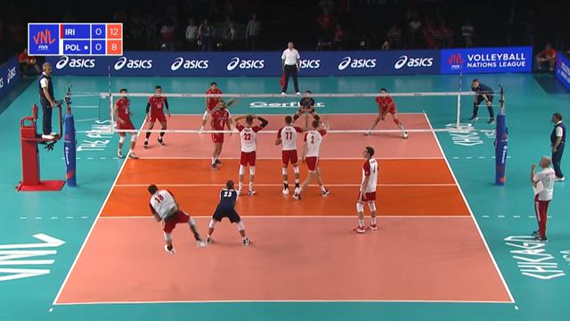 Volleyball Nations League: Polonia-Iran 3-1, gli highlights