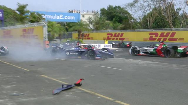 Biggest crashes of the Formula E season