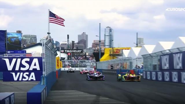 Formel E in New York City: Die Highlights aus dem Big Apple