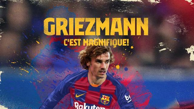 Il Barcellona ufficializza Antoine Griezmann: pagata la clausola da 120 milioni all'Atletico