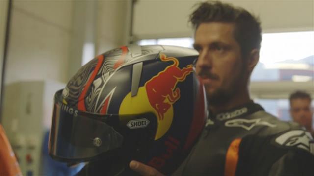Marcel Hirscher, dallo slalom alla MotoGP: test in Austria sulla KTM di Zarco
