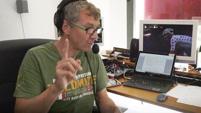 """So läuft der """"Funkverkehr"""" bei der Tour-Übertragung von Eurosport"""