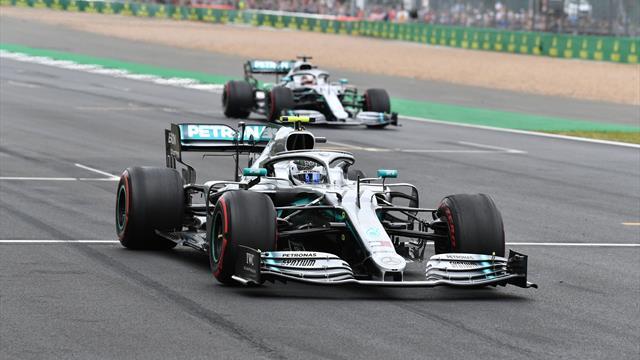 Silber-Show in Silverstone - Leclerc hängt Vettel ab