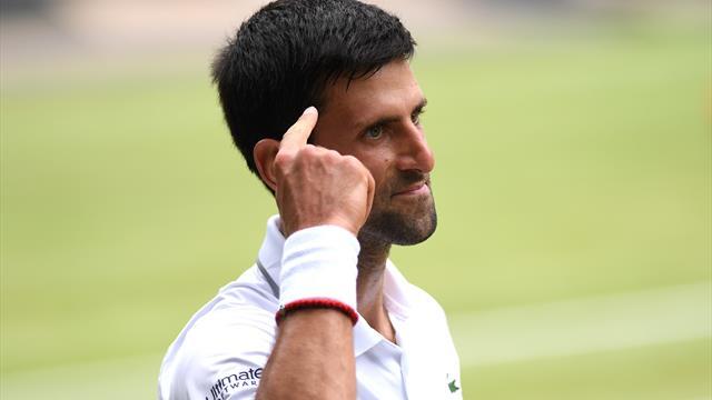 Djokovic greift in Wimbledon nach der Titelverteidigung