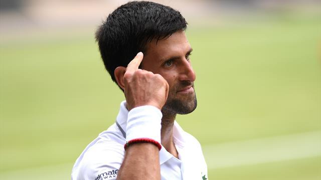 Djokovic è in finale per la sesta volta: battuta la resistenza di Bautista Agut in 4 set
