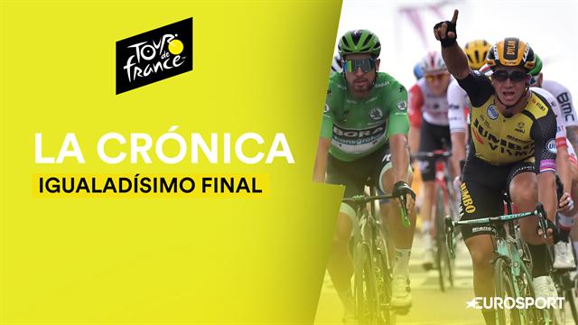 Tour de Francia 2019 (7ª etapa): Groenewegen sorprende en un esprint ajustadísimo ante Ewan y Sagan