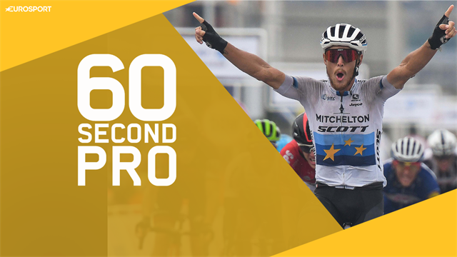 60 Second Pro - How to throw a bike in a sprint finish