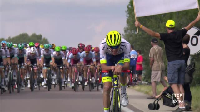 220 km di fuga per Rossetto e Offredo: sono loro gli eroi della 7a tappa del Tour