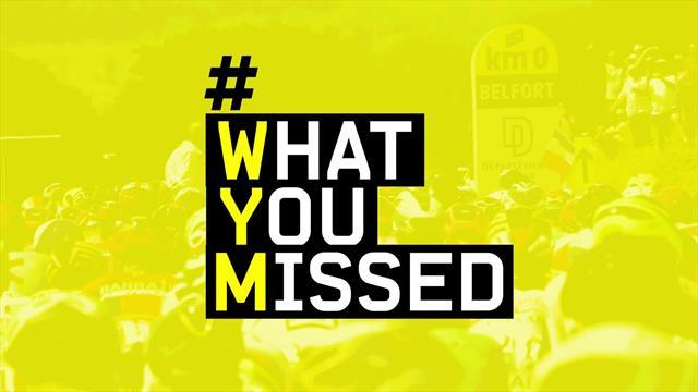 What you missed, 7a tappa: fuga, borracce e Groenewegen