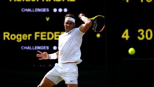 🎾 Federer se lleva el primer set ante Nadal tras un espectacular tie-break