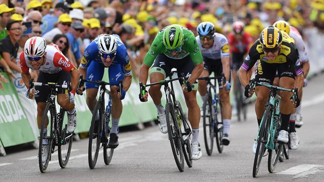 Mit Video | Sagan im Sprint geschlagen - dritter Sieg für Team Jumbo