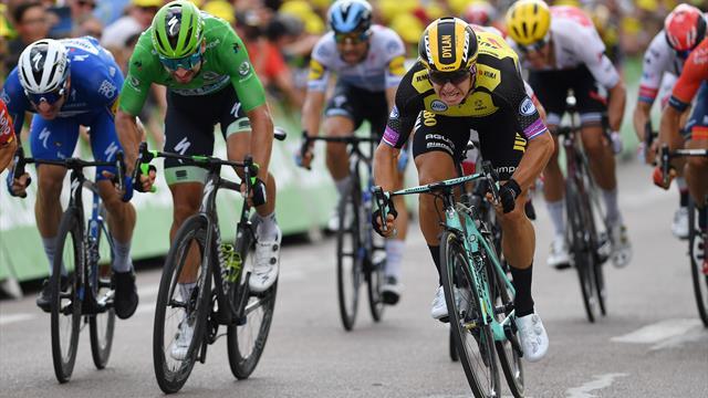 Грёневеген выиграл седьмой этап, Чикконе продолжает править в тотале