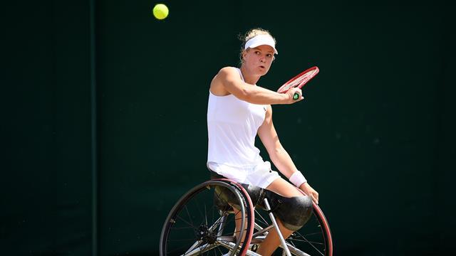 Diede de Groot weer naar Wimbledon finale