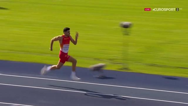 Europeos Sub-23: Espectacular salto de Héctor Santos para ganar la plata