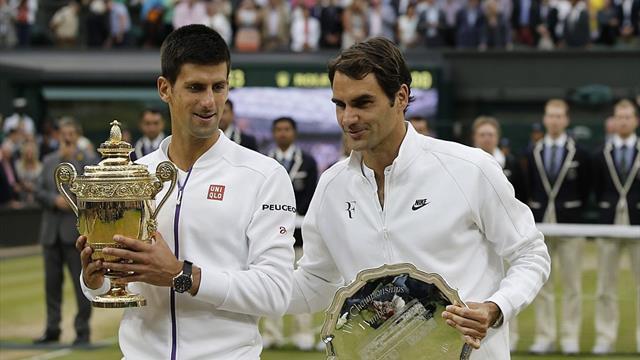 Wimbledon: Djokovic gewinnt dramatisches Finale gegen Federer