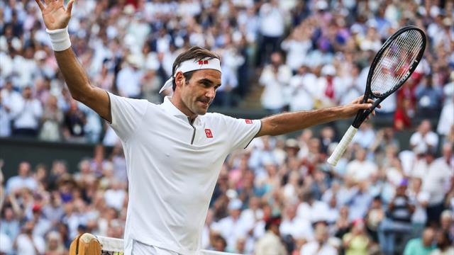 De samenvatting van Rafael Nadal vs Roger Federer in de halve finale van Wimbledon 2019