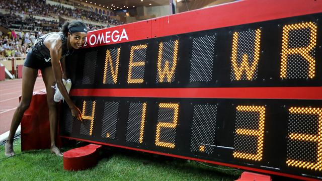Hassan breaks women's mile world record, GB's Muir sets new PB