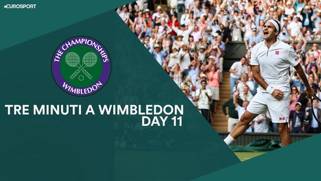 Dalla rivincita di Federer con Nadal alla solidità di Djokovic: tre minuti a Wimbledon, Day 11