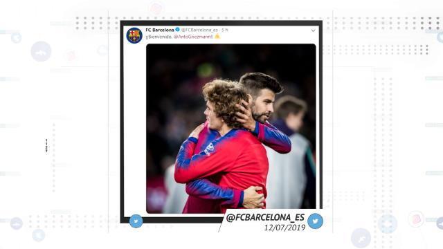 Barça - Le transfert de Griezmann vu par les réseaux sociaux